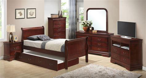 trundle bedroom sets g3100 youth sleigh bedroom set w trundle furniture
