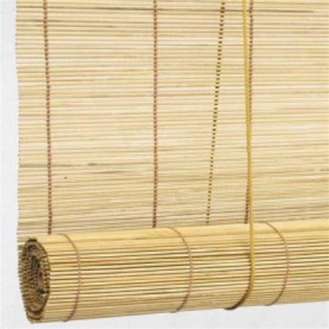 cheap bamboo curtains a bamboo window shade is cheap and fits the theme