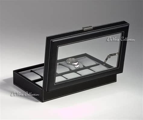 scatole porta orologi scatole porta orologi vetrine portaorologi davinci