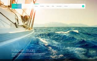 ideas fullscreen responsive wordpress theme by imaginem