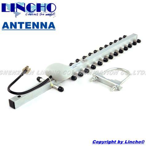 High Gain 2 4ghz Wifi Yagi Antenna 2 4ghz outdoor directional wifi yagi antenna 15 elements