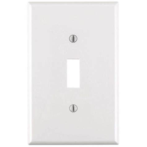 leviton decora 1 midway wall plate white r62
