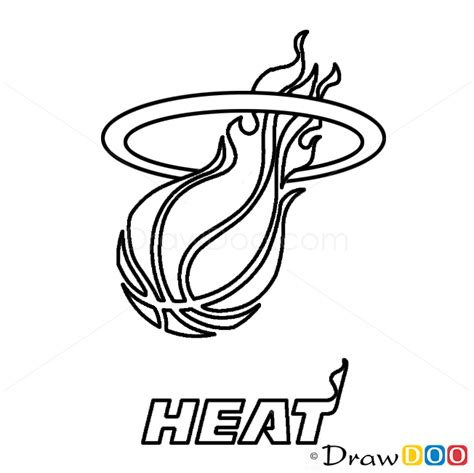 miami heat symbol free coloring pages on art coloring pages