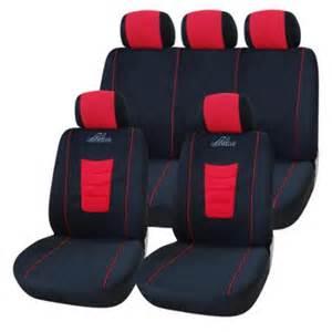 Black Car Seat Covers Walmart Adeco Black 9 Car Vehicle Seat Covers Walmart