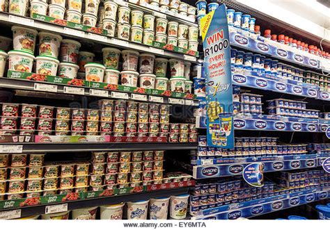 Shelf Store Cape Town by Dairy Stock Photos Dairy Stock Images Alamy