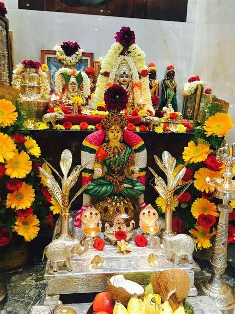 pin  harshini   pooja decor goddess decor decor