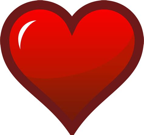 clipart stylish red heart red heart cliparts the cliparts
