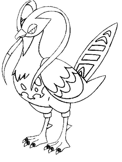 pokemon coloring pages unfezant coloring pages pokemon unfezant drawings pokemon