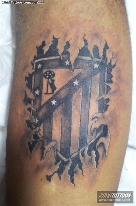 tattoo old school madrid tatuaje de escudos deportes f 250 tbol