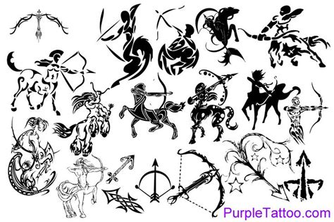 tribal zodiac tattoos sagittarius sagittarius astrology zodiac sign tattoos zodiac