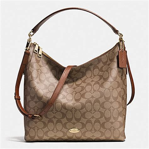 Coach Celeste celeste convertible hobo in signature canvas f34910