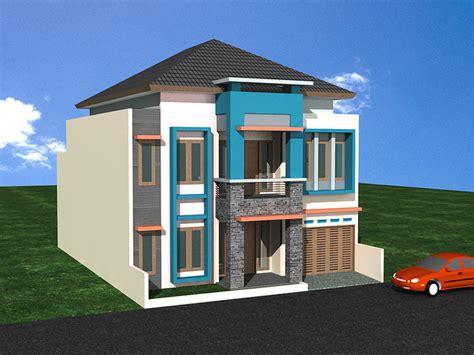 desain rumah lahan sempit 20 contoh gambar desain rumah minimalis 1 lantai dan 2