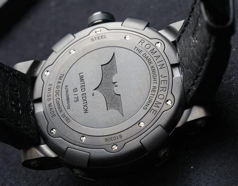 Jam Tangan Logo Batman jerome batman dna gotham city on