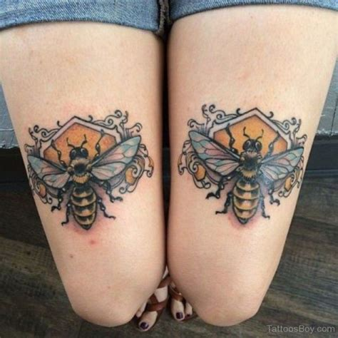 bees knees tattoo bumble bee tattoos designs pictures