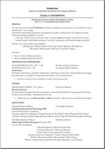 Esthetician Resume Sle by Makeup Artist Resume Objective Template Exles Cover Letter For Makeup Artist With No