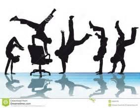 Black Hanging Chair Office Acrobatics Royalty Free Stock Photo Image 32923705