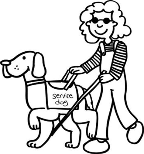 coloring books for visually impaired all about assistance dogs