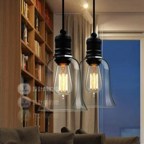 Modern Dining Room Lighting Fixtures Aliexpress Buy Free Shipping Modern Bell Glass Pendant Lights Dining Room