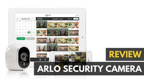 netgear arlo wireless security review