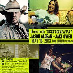 Jason Aldean Ticket Giveaway - people wearing okies rock apparel on pinterest glow run