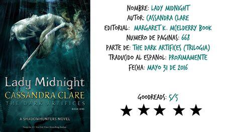 lady midnight cazadores de 6070735021 lady midnight spoilers muriendo entre tinta