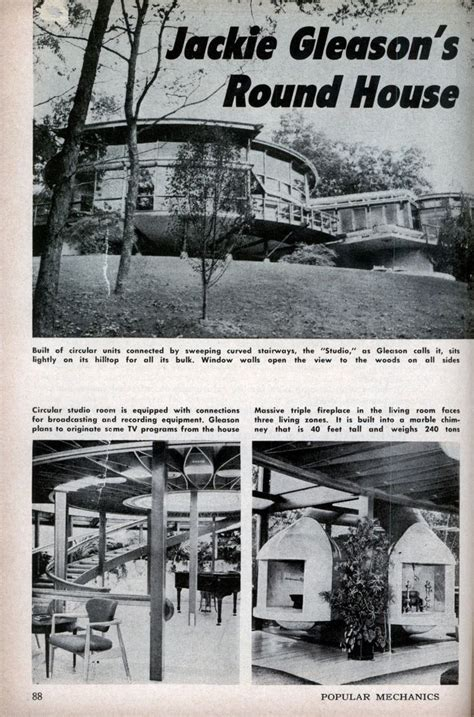 jackie gleason ufo house jackie gleason s round house like a ufo jackie was a great collected of all things