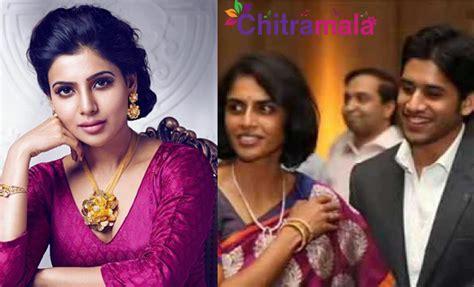 actress samantha parents pics samantha meets naga chaitanya s mom