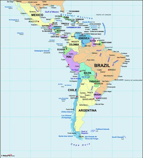 south america map directions america wall map maps