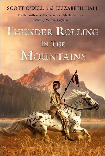 I O N Paperback thunder rolling in the mountains by o dell