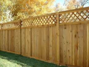Home Depot Trellis Menards Privacy Wood Fence With Lattice The Ashton