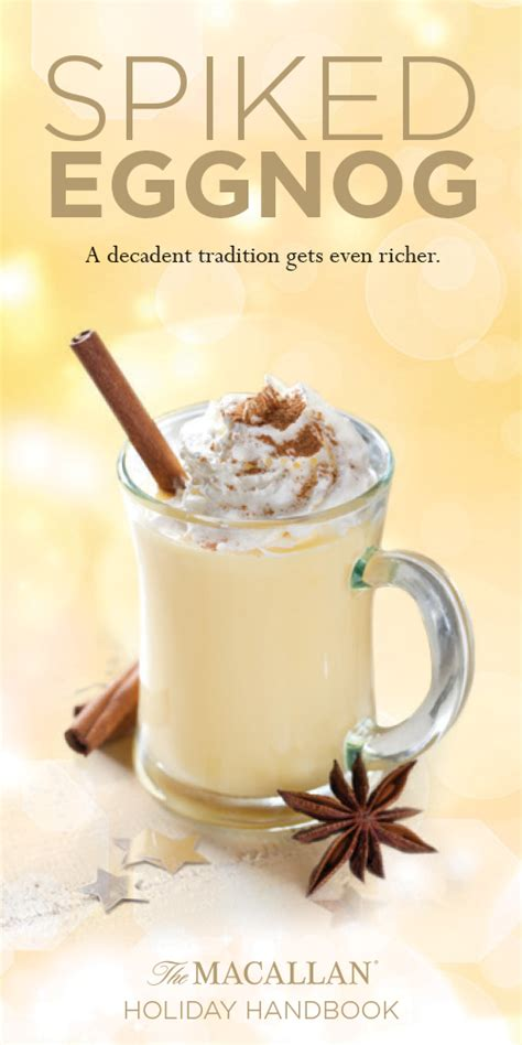 spiked eggnog punch harried housewife this season try this scotch inspired spiked eggnog recipe steven cox steven cox