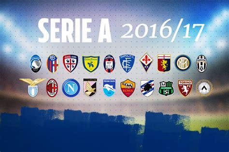 calendario calcio inglese 2016 2017 calendario serie a 2016 17 il sorteggio in diretta