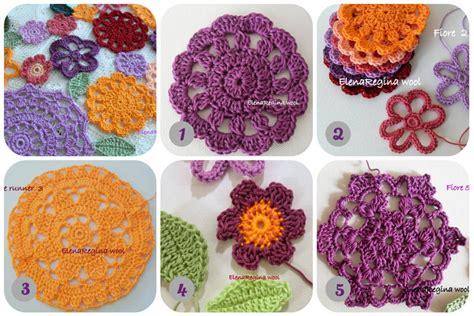 fiori all uncinetto con fettuccia tappeti uncinetto tutorial tappeti fettuccia tutorial e
