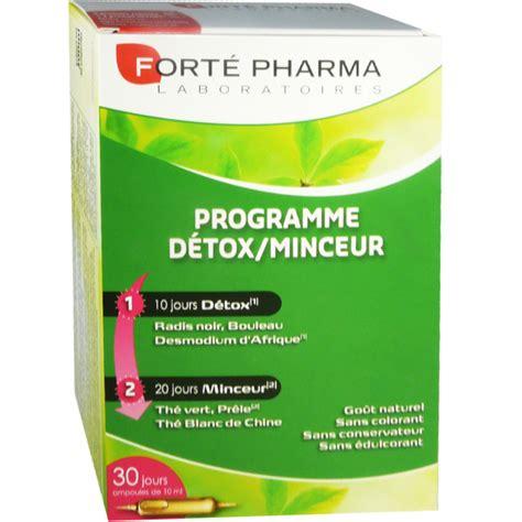 Detox Pharma by Forte Pharma Detox 30 Oules 10 Ml Gout Naturel