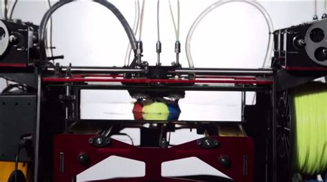 Kickstarter Mba Internship by The Five Colour 3d Printer From Cambridge Is Doing