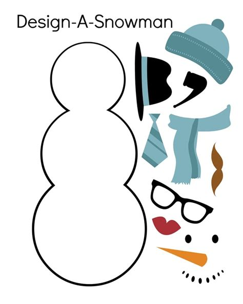 printable free snowman free coloring pages of build a snowman
