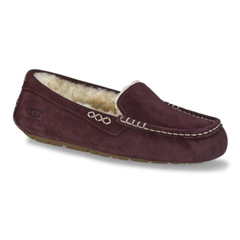 uggs slippers for ugg 174 ansley mahogany womens slipper shoesurfing