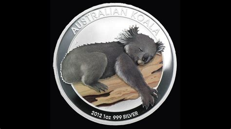 1 oz silver koala coin bullion list silver 1oz silver koala colored coin 2012