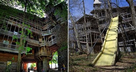 world s largest house worlds largest tree house stands 10 stories tall treehugger to male models picture