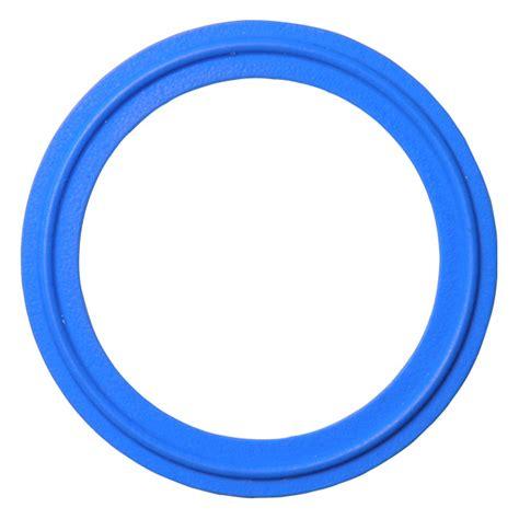 Gasket Teflon ptfe teflon sanitary tri cl gasket blue 6 quot ebay