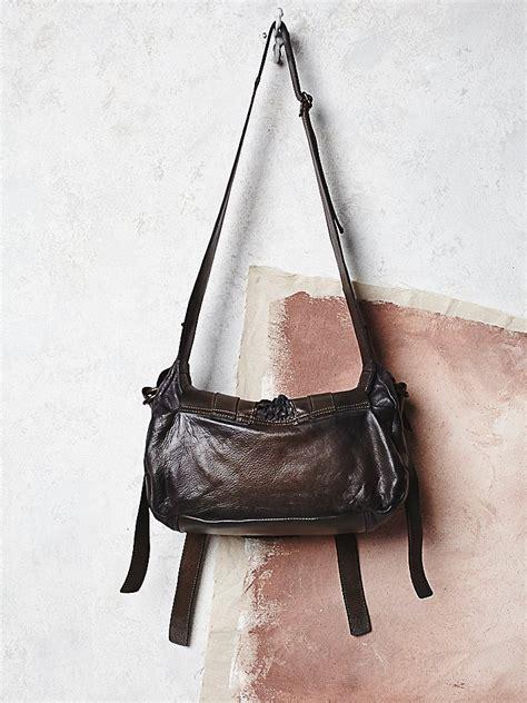Louisa Elizabeth Bags lyst free womens luisa leather bag in black