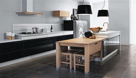 modele de cuisine amenagee black rendez vous kitchen by thibault desombre