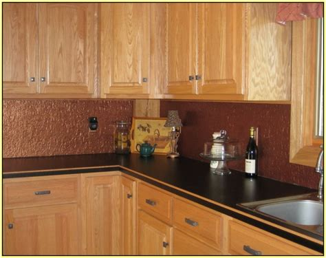 copper kitchen backsplash copper glass tile backsplash