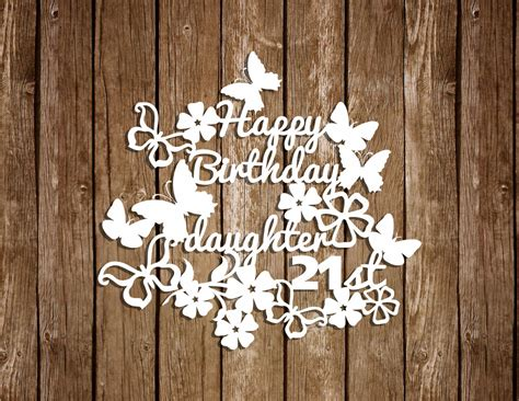 diy new year paper cutting birthday paper cutting templates anniversary templates