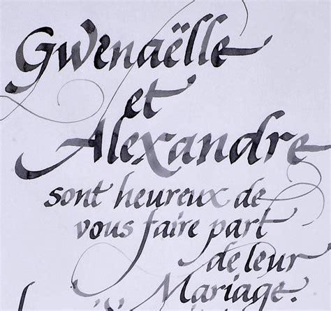 Calligraphie De Texte