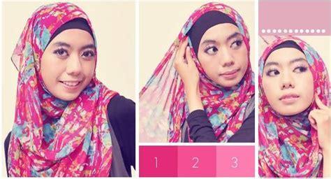 tutorial hijab pasmina lebaran 2015 tutorial hijab pasmina sifon