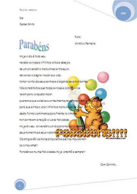 carta de parab 233 ns