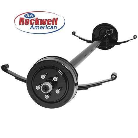 boat trailer axles with electric brakes 3 500 lb electric brake axle running gear set johnson