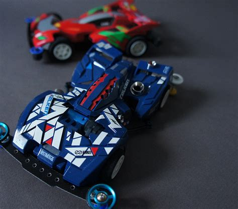Gun Bluster Xto Set tamiya mini 4wd gun bluster xto ミニ四駆 calvin z flickr