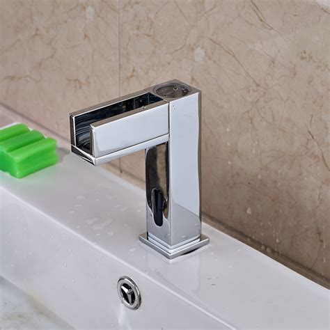 manoa led bathroom sink faucet with motion